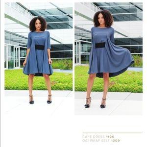 Kiya Tomlin Cape Dress